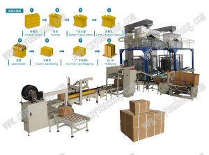 Rice/Bags Into Cartons Packing Machine pictures & photos