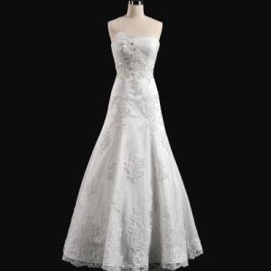 Ball Gown Hotel Wedding Dress (OGT3002M)