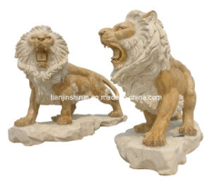 Stone Lion Carving Sculpture (8323) pictures & photos