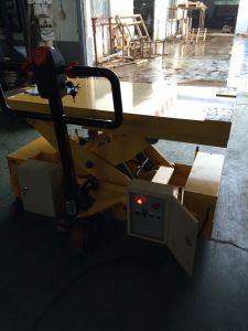 Heavy Duty Goods Crane Small Stationary Scissor Lift Table pictures & photos