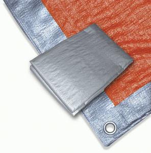 Silver/Orange Tarpaulin/ Tarps pictures & photos