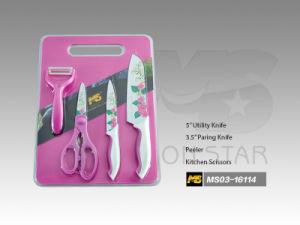 Cutting Board Series Kitchen Knife (MS03-16114) pictures & photos