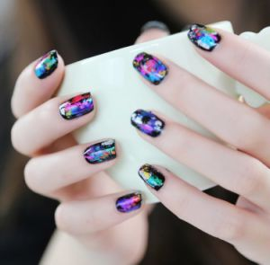 2016 Fashionable Garishness Summer Style Transfer Nail Foil Sticker Nail Beauty