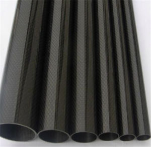 3k High Strength Carbon Fibre Tube Pipe pictures & photos