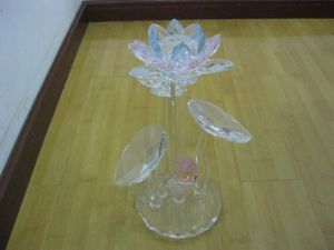 Crystal Table Decorations Lotus Flower (JDH-028) pictures & photos