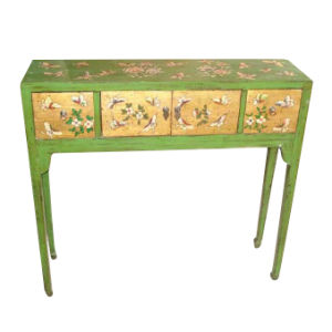 Chinese Antique Furniture Painted Side Table pictures & photos