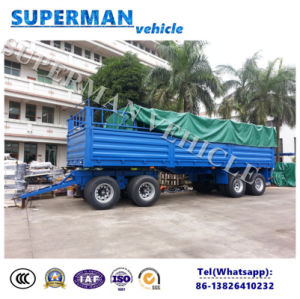 4 Axle Full Cargo Transport Turntable Semi Truck Trailer pictures & photos