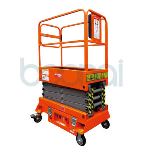 Mini Mobile Scissor Lift for Aerial Work pictures & photos