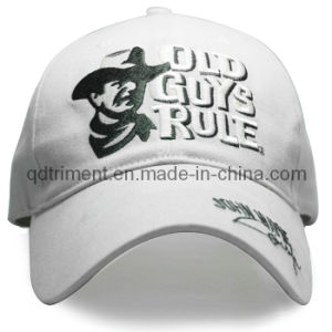 Brushed Cotton Twill Sandwich Embroidery Sport Baseball Cap (TRB040) pictures & photos