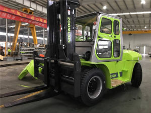 Heavy Duty Forklift Truck 10 Ton Snsc Fd100 Forklift pictures & photos