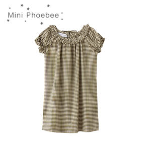 Phoebee 100% Cotton Kids Girls Dress for Summer pictures & photos