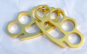 Solid Brass Knuckles