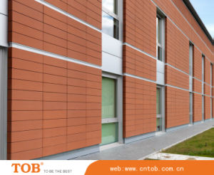 1, 200mm Terracotta Facade Panel with 18mm Thickness and 400mm Width, Various Colors Are Available