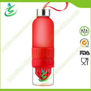 Glass BPA Free Fruit Infusion Water Bottle, Lemon Bottle pictures & photos