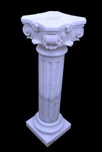 White Marble Column, Pillar, Pedestal (23058) pictures & photos