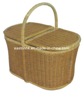 Hotel Natural Color Rattan Laundry Basket pictures & photos
