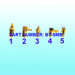 SMB Male for Rg316 Rg174 Bulkhead Connector pictures & photos