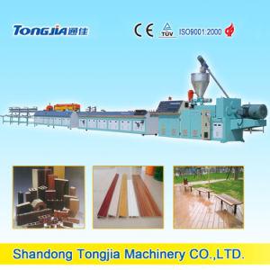 Wood Plastic PVC Profile Production Line (JG-MSX) pictures & photos