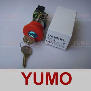 Mushroom Head Push Button Switches (LAY5-BS142)