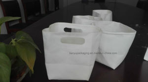 Paper Bag with Handle Shopping Bag Washable Environmental Bag pictures & photos