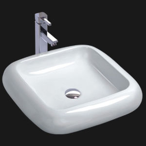 Porcelain Art Bathroom Basin (6038) pictures & photos