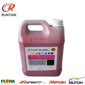 New Original 5L Xaar 382 Solvent Ink for Inkjet Printer, Wit-Color Ink pictures & photos