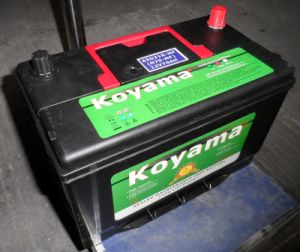 Rechargeable Lead Acid Mf Car Battery 12V70ah (N70MF) pictures & photos