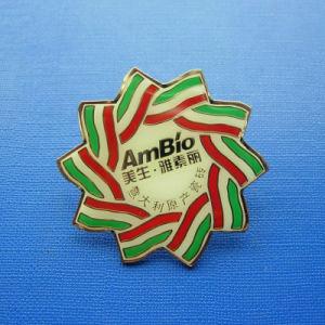 Soft Enamel Badge, Flower Shape Lapel Pin (GZHY-SE-013) pictures & photos