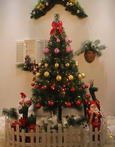 Outdoor Decoration Artificial LED Christmas Tree