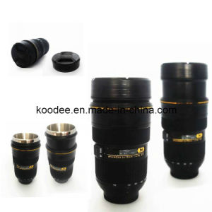 Stainless Steel Camera Lence Mug (KD-015)