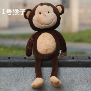 Plush and Stuffed Toy Monkey Doll/Cushion/Pillow for Children/Girls′ Gifts, 31cm