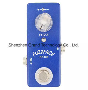 Zinc-Aluminium Alloy Fuzz Face Mini Guitar Pedal in Blue (JF-85) pictures & photos