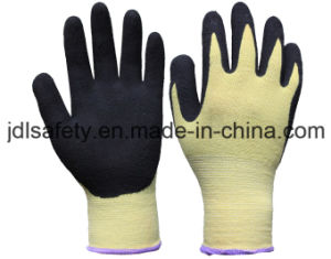 Heat Contacted Work Glove with Sandy Nitrile Coating (NK3033) pictures & photos