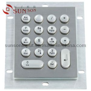 18 Key Kiosk Metal Keypad for Vending Machine and Selfservice Terminal (SNK104A)