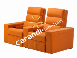 Home Theater Electric Motion Recliner Cinema Sofa (Rd5807)