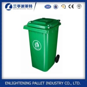 120L Plastic Garbage Dustbin with Wheel pictures & photos