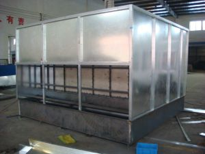 Water Curtain Paint Spray Booth pictures & photos