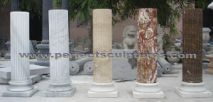 Stone Granite Sandstone Marble Column for Home Decoration (QCM0132) pictures & photos