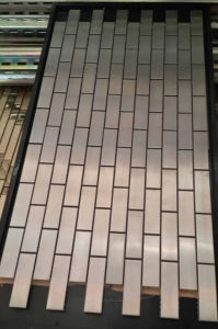 Mosaic Wall Tile, Stainless Steel Metal Mosaic (SM264) pictures & photos