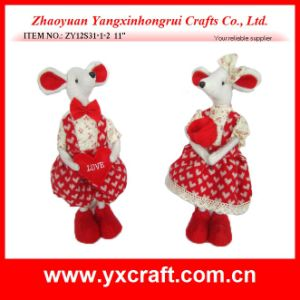 Fashion Valentine Animal (ZY12S31-1-2) Valentine Stand Decoration pictures & photos