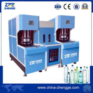 Hot Sale 4 Cavity Semi Auto Plastic Bottle Machines/Semi Automatic Pet Blow Molding Machine pictures & photos