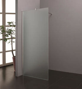 Bathroom Chrome Frame 8 10mm Tempered Shower Screen Frosted Glass pictures & photos