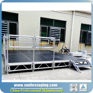 Adjustable Aluminum Mobile Stage with CE Approved (RK-ASP1X1I) pictures & photos