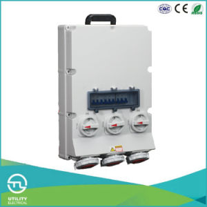 IP67 Ternate Socket with Switches and Mechanical Interlock Connector pictures & photos