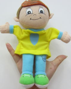 Soft Plush Boy Hand Puppet Xm-15