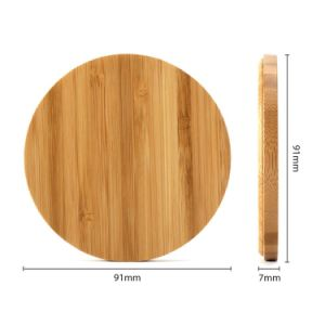 Bamboo Wireless Charger for Mobile Phone (B1) pictures & photos