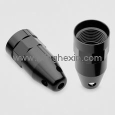 Black Plastic Molding Cap with ISO SGS
