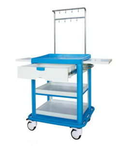 Medical Treatment Trolley 2 Layer (SC-HF18) pictures & photos