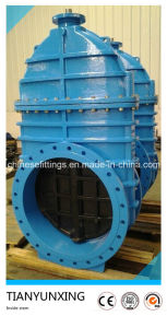 Di Flanged Inside Stem Ductile Iron Gate Valve pictures & photos