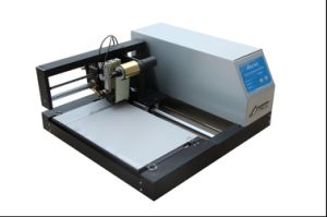 Stable Digital Plateless A4 Flatbed Hot Stamping Machine, Audley Printer for A4 Size Bookcover Adl-3050c pictures & photos